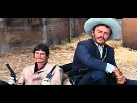 Musique film - Pancho villa 1968 ( Yul Brynner & Robert Mitchum & Charles Bronson ).