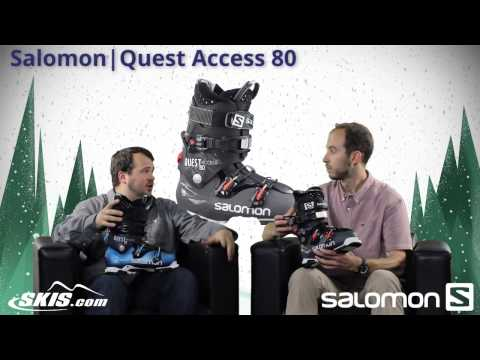 2015 Salomon Quest Access 70, 80, and 90 Mens Boot Overview