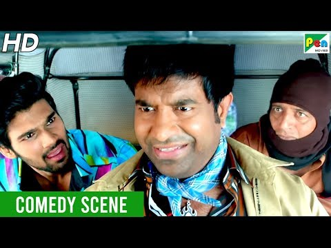 Bellamkonda Sreenivas - Prakash Raj Comedy Scene | Mahaabali (Alludu Seenu) New Hindi Dubbed Movie
