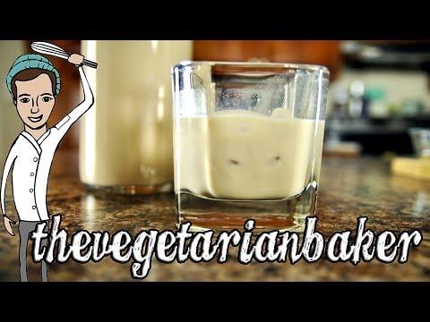 How to Make Baileys Irish Cream (Thirsty Thursday) (TheVegetarianBaker)