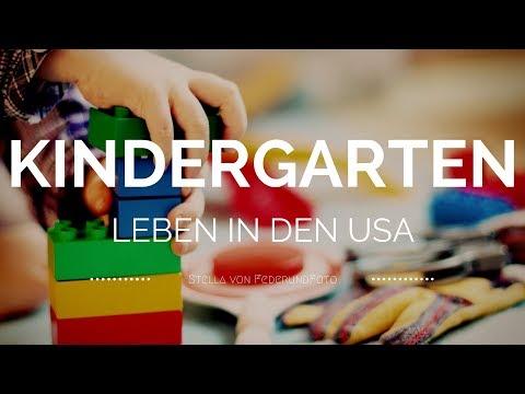 So ist unser Kindergarten in den USA! Worauf musst du achten? (Leben USA Vlog)