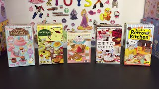 Re-ment Blind Boxes Opening: Snoopy, Rilakkuma, Little Twin Stars, Pompompurin Sanrio, Japanese Toys