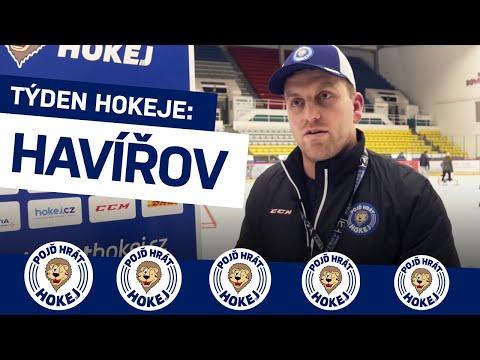 Týden hokeje v Havířově s Davidem Moravcem