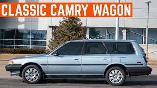 My Little SISTER Went Full RADwood And BOUGHT A 1990 Toyota Camry DX Wagon (V20)