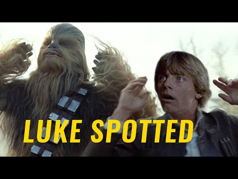 Luke spotted in the new trailer!