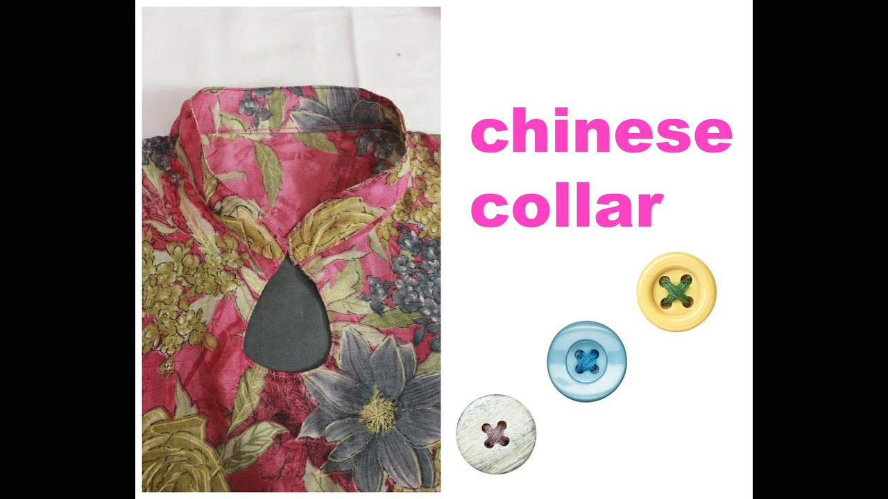 How to make chinese collar youtube jeuxipadfo Image collections
