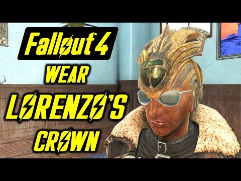 FALLOUT 4 - LORENZO'S CROWN - Wear Lorenzo's Hat and Harness his Power - PC, X1 MOD
