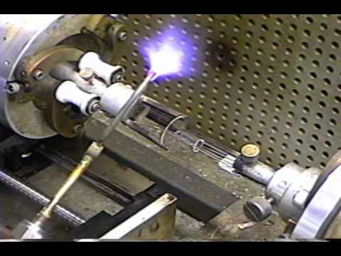 making a fleming diode vacuum tube 3