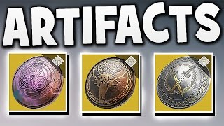 Destiny - NEW ARTIFACTS ! SPECIAL ABILITIES !!