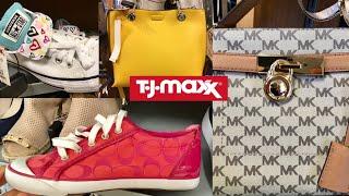 TJ Maxx SHOP WITH ME Coach Michael Kors & More Shoes & Handbags
