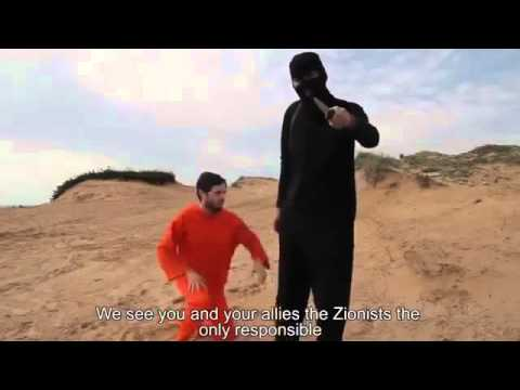 A comedy sketch of an isis beheading video (very funny!!!) Isis are fools..