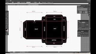 Making Dieline or Keyline in Adobe Illustrator (Easy Method III)