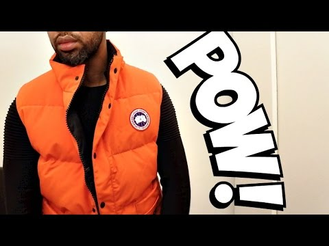Trying On CANADA GOOSE GILET | Full Review & Try ON