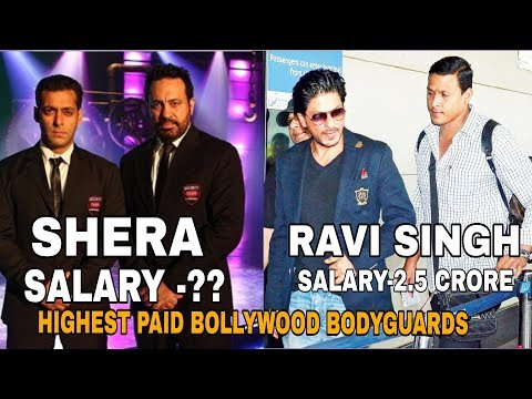 Highest paid Bollywood BODYGUARDS | 2017 |