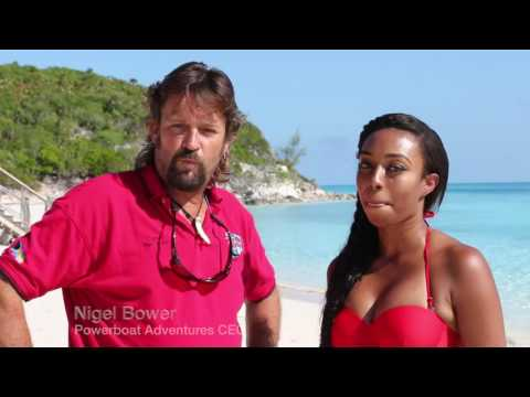 PowerBoat Adventures With Miss Universe Bahamas