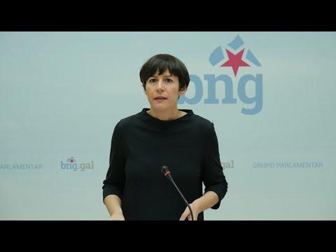 Rolda de prensa de Ana Pontón. 1 de marzo de 2021