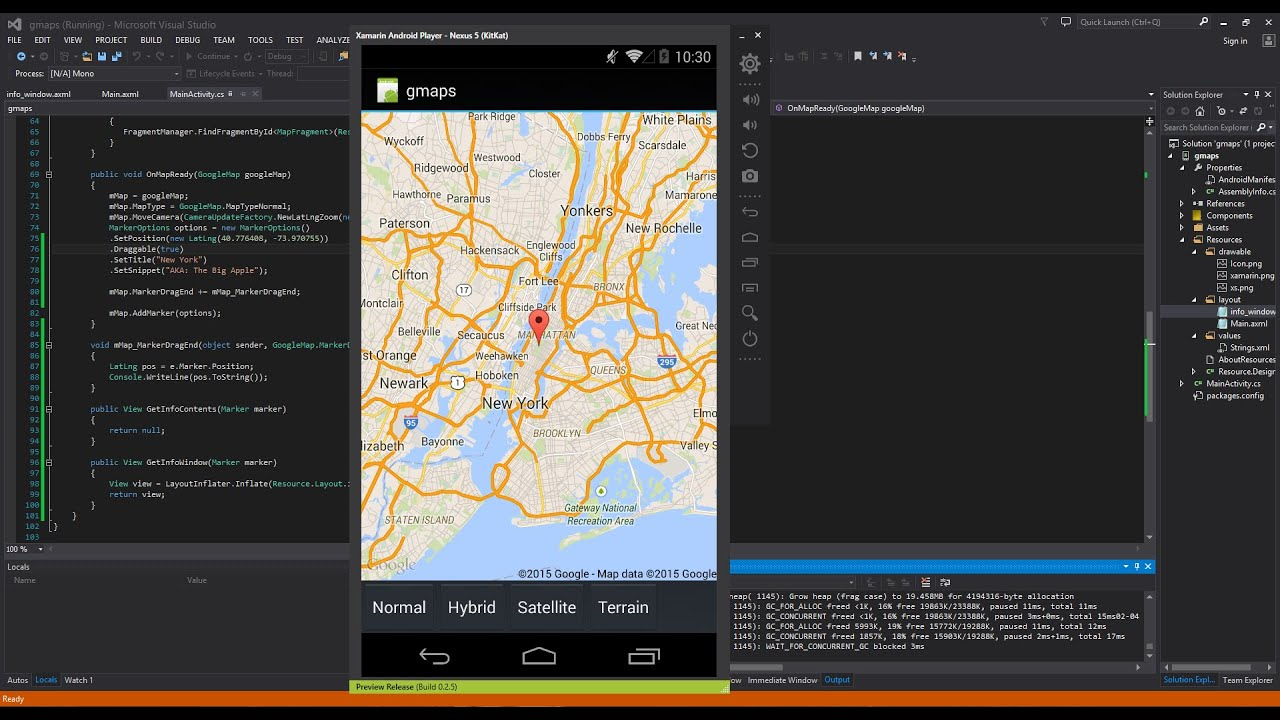 Xamarin Android Tutorial Google Maps YouTube - Is google maps app free