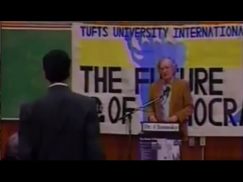 Noam Chomsky - Does Economic Growth Justify the System?
