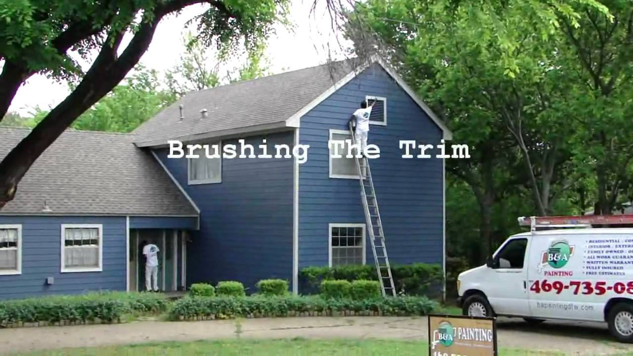 exterior house painters. Exterior House Painting  Dallas FT Worth Spray Home Painters YouTube
