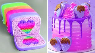 Most Satisfying Colorful Cake Decorating Hacks Compilation | So Yummy Cake Decorating Ideas