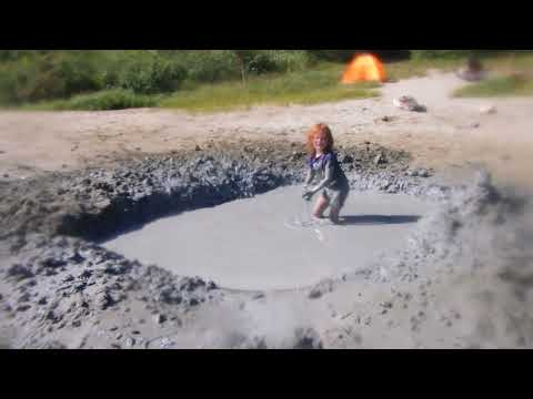 TOFINO Glacial Clay Floatation Mud Pool - RAinbow Beach Kennedy Lake - Playing SPLAT The MUD BALL