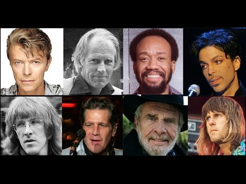 Musicians We Lost - 26 Who Died In 2016 Songs Remembered