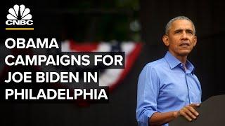 Former President Obama speaks in Philadelphia for Biden-Harris campaign — 10/21/2020