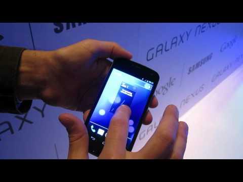 Galaxy Nexus first hands-on