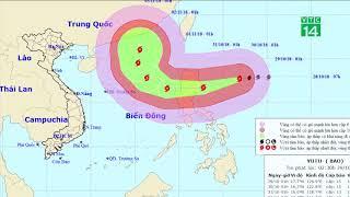 Siêu bão Yutu gây thời tiết xấu khu vực Bắc biển Đông| VTC14