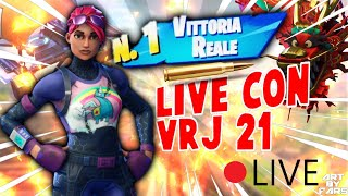 🔴FORTNITE - game with you! REAL AND CREATIVE BATTLE VRj21