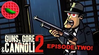 ONWARD TO THE AIRPORT BAR! -- Let's Play Guns, Gore and Cannoli 2 (Part #2) (Steam PC)(Local Co-op)