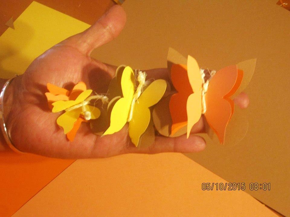 Mariposas en cartulina manualidades paso a paso youtube for Actividades con cartulina para ninos