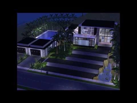 Sims 2 Modern House Design - Verona