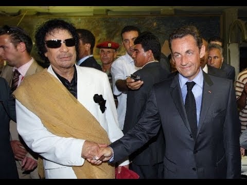Fmr French President Sarkozy Detained On Allegations Libyan Leader Kadhafi Paid His 2007 Campaign