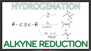 Alkyne Reduction - Hydrogenation Reaction and Mechanism