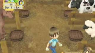 Harvest Moon: Tree of Tranquility Life on the Farm Gameplay