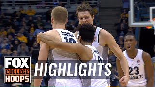 Marquette vs Vermont | Highlights | FOX COLLEGE HOOPS