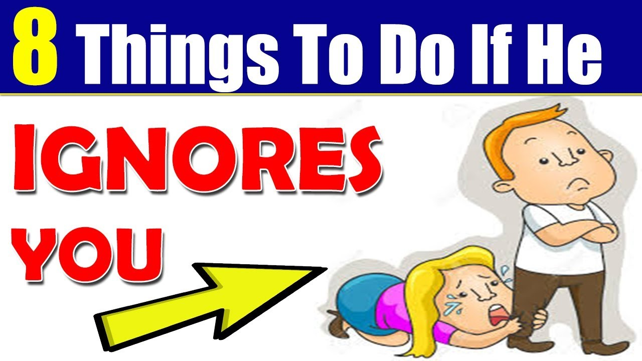 8 Things to Do When Someone IGNORES You - LOVE PSYCHOLOGY