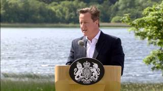 G8 summit: UK Press Conference