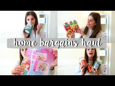 Home Bargains Haul!   Phoebe & Me