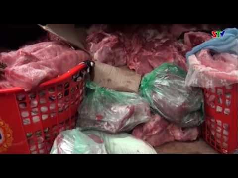 Phù Yên bắt giữ 400kg thịt lợn đã qua giết mổ không có chứng nhận kiểm dịch