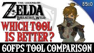 Cemu | 60FPS Tool Comparison | Vloodz vs Xal | Zelda BOTW