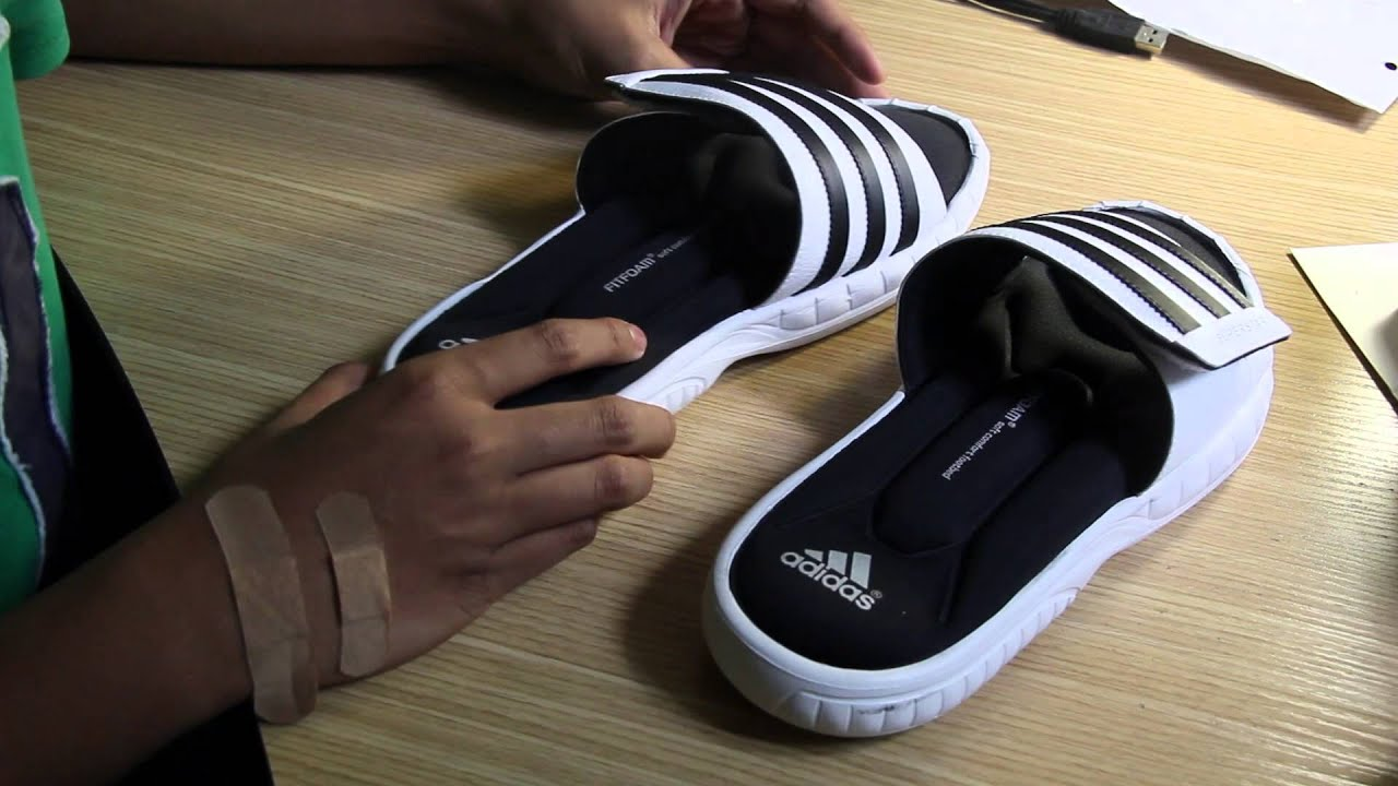 5e278f68c4b9 Product Review  Adidas Superstar 3G Slides - YouTube