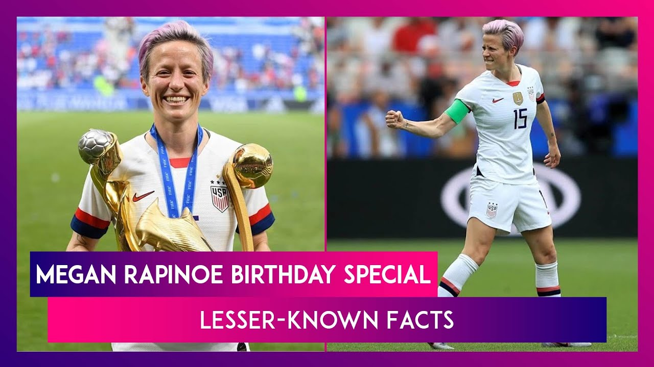 Happy Birthday Megan Rapinoe: Lesser-Known Facts About The US Women's Star Soccer Player
