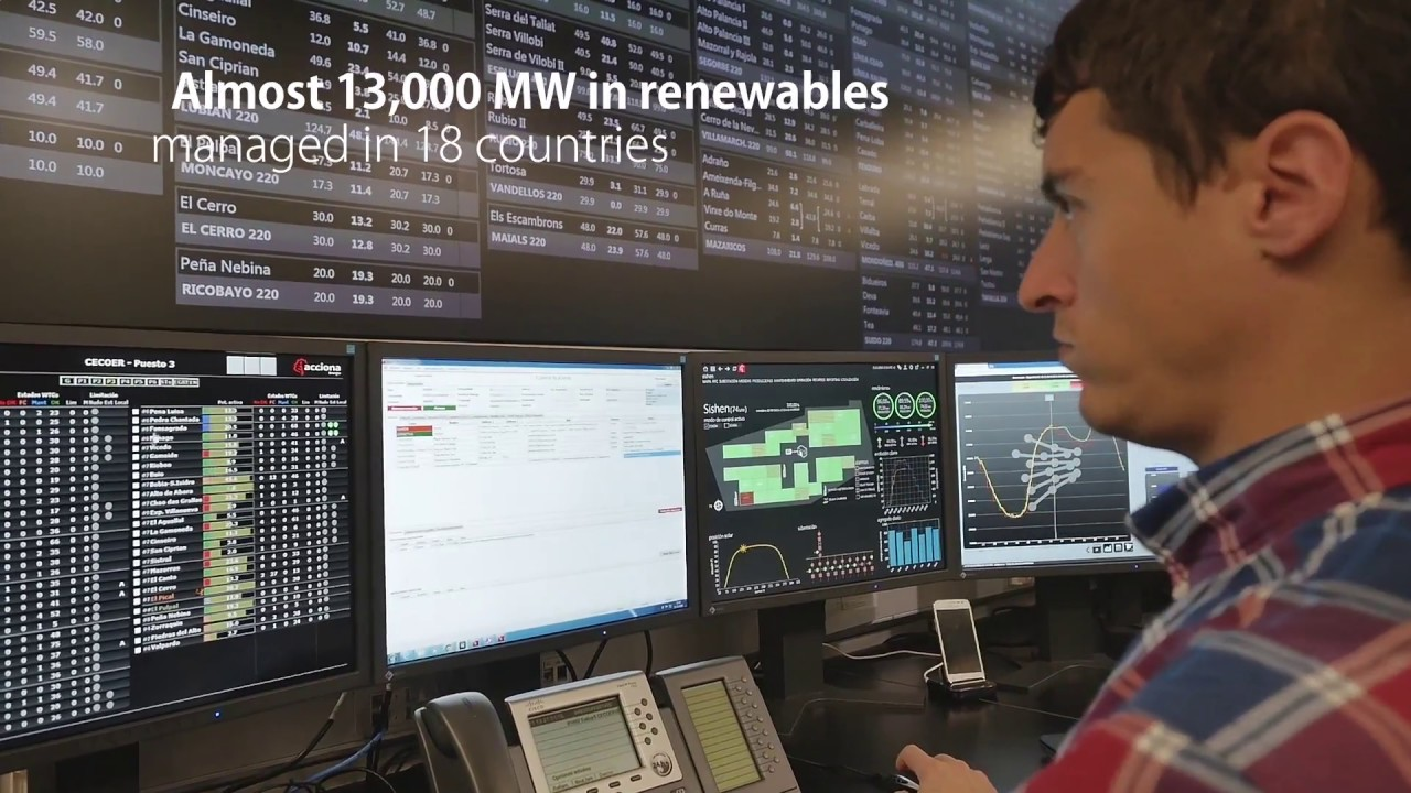 Renewable Energy Control Center (CECOER) | ACCIONA