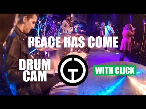 Peace Has Come - Hillsong (Drum Cam)