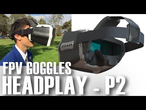 HEADPLAY HD - FPV Head Mounted Display Goggles - Part 2 - Flight Review