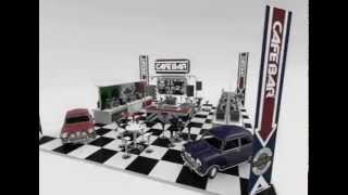 Cafe Bar - The Italian Job - Exhibition - Animation Thumbnail