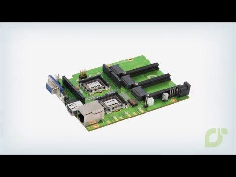 IoT open source hardware platform, mangOH™  Green