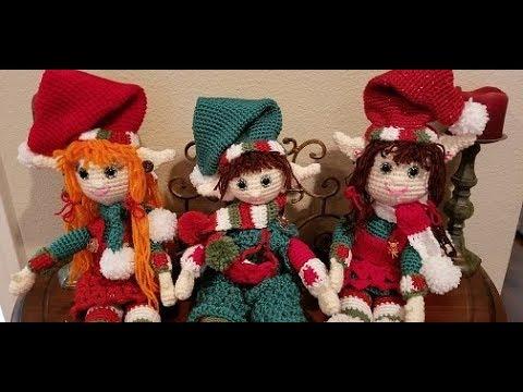 Christmas Elf lovey – Tremendu Crochet   360x480